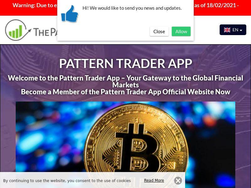 Pattern Trader App Arabic 2550
