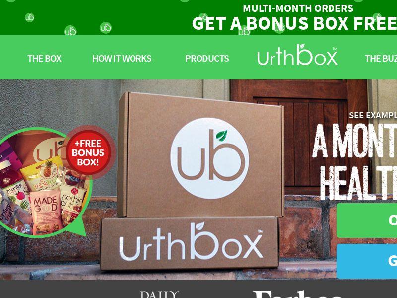 UrthBox (Incentive) (US)