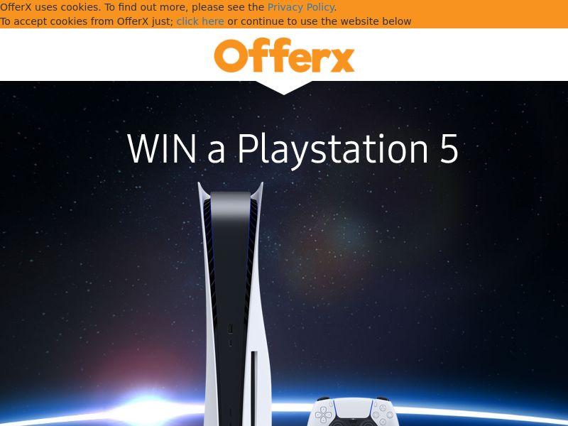OfferX - Free Playstation 5 [UK]