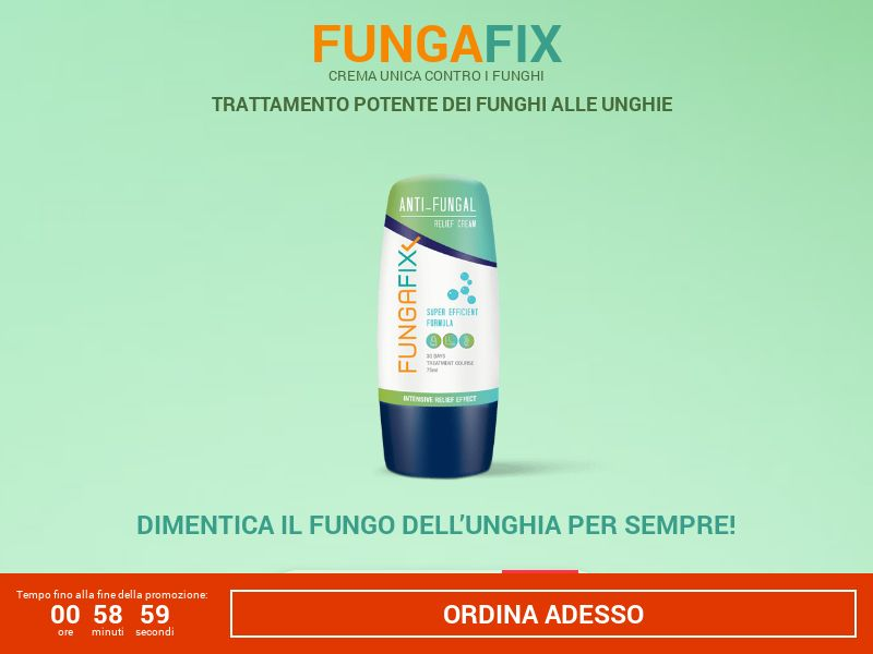 FungaFix: Anti Fungal cream - 19€ - COD - Desktop & Mobile [IT]