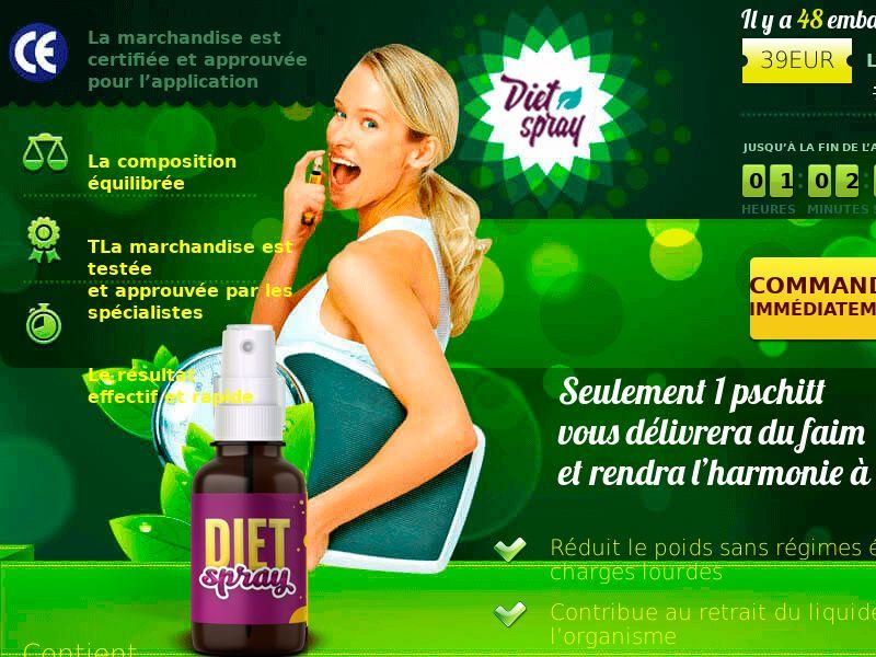 Diet Spray FR - weight loss treatment