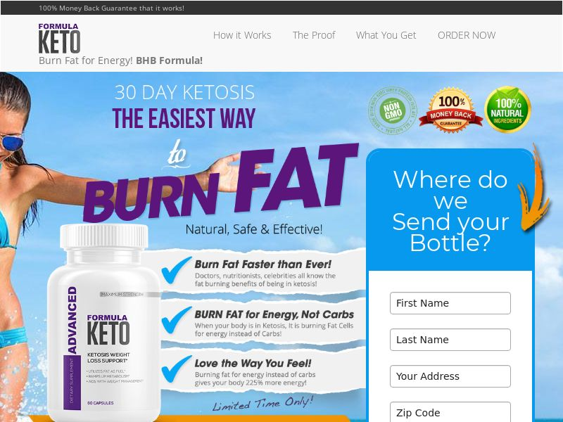 Advanced Formula Keto - US - Trial w/upsell (SMS Approved)