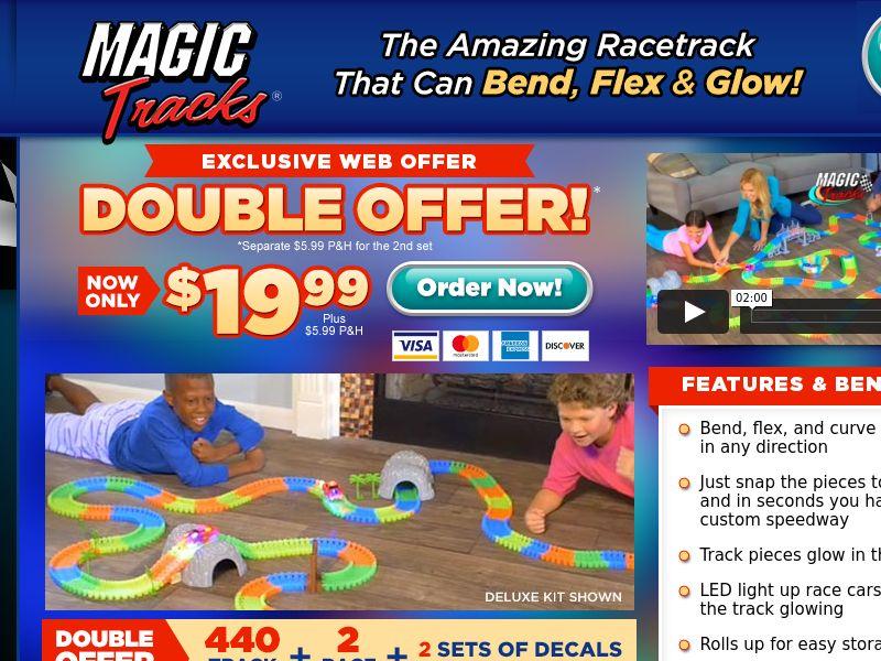As Seen on TV Magic Race Tracks