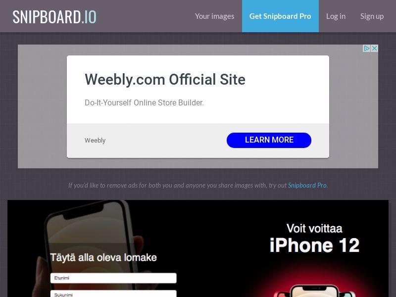 BigEntry - iPhone 12 v1 FI - CC Submit