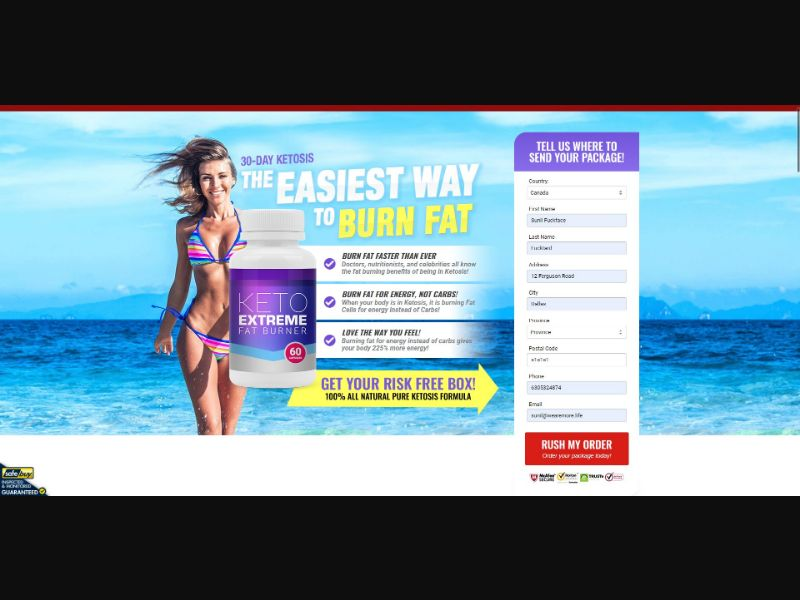 Keto Extreme Fat Burner - Diet & Weight Loss - SS - [17 GEOs]