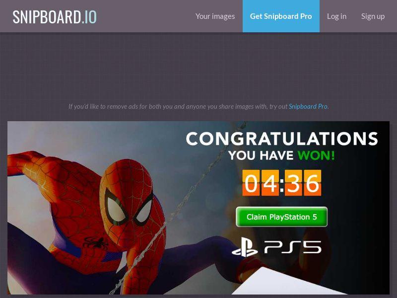 Playstation 5 (Spiderman Orange) - CC - US (US), [CPA]