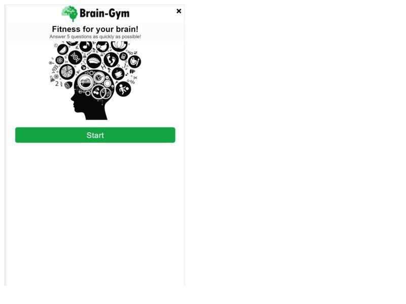 Brain Gym Orange
