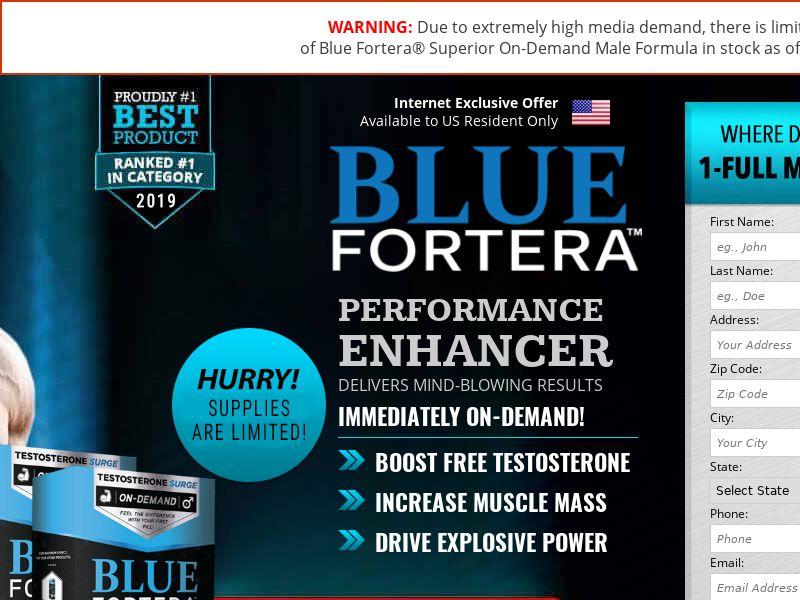 Blue Fortera - SS - USA - Muscles