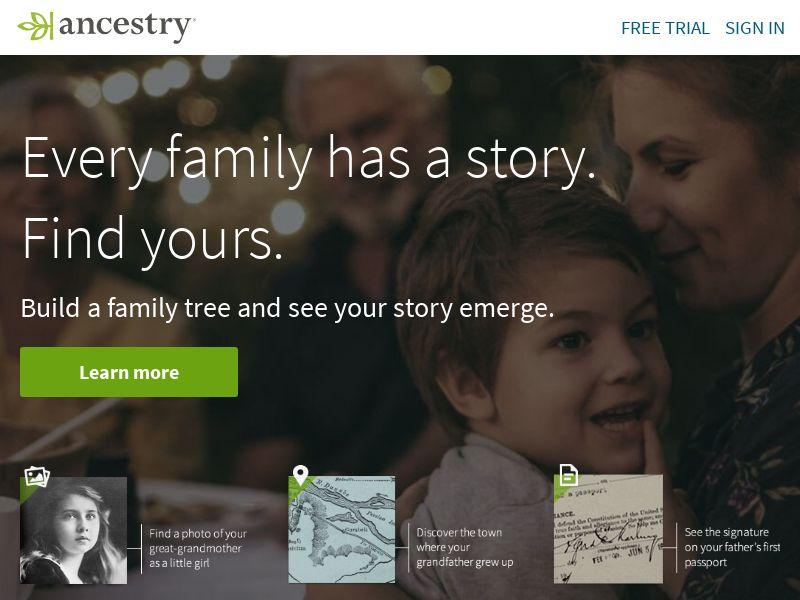 Ancestry US CA UK AU