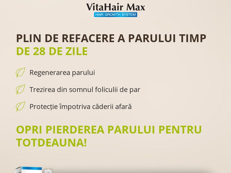 VitahairMax - Hair Loss Repair - COD - [RO]