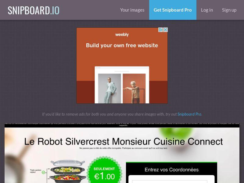 BundleShopping - Silvercrest MR Cuisine v2 FR/BE - CC Submit