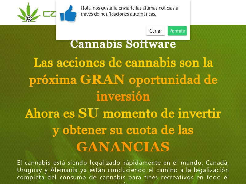 The Cannabis Software Spanish 1368
