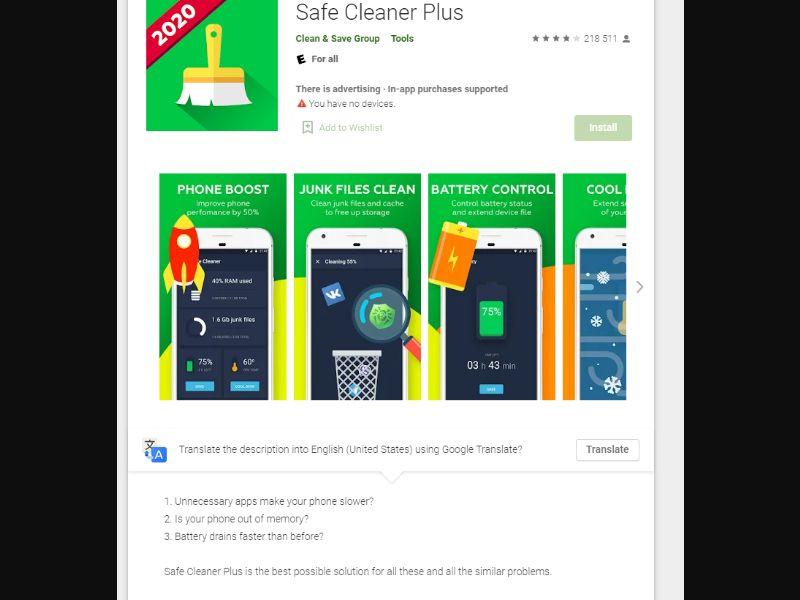 Safe cleaner [KR,FR,ES] - CPI
