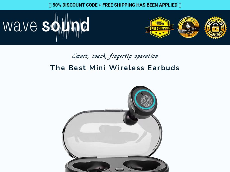 Wave Sound - Mini Earbuds - CPA - [22 GEOs]