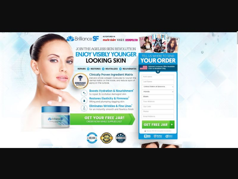 Brilliance SF - Skin Care - SS - NO SEO - [51 GEOs]