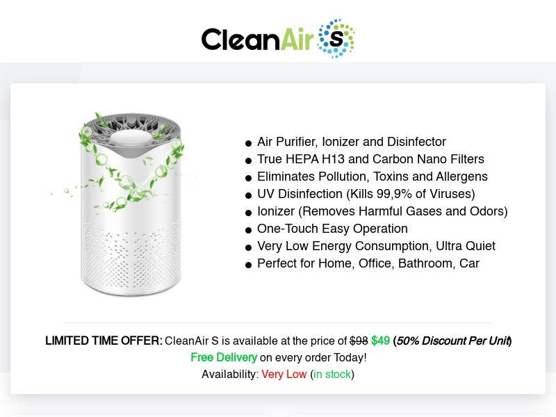 CleanAir S (INTL) (CPS)