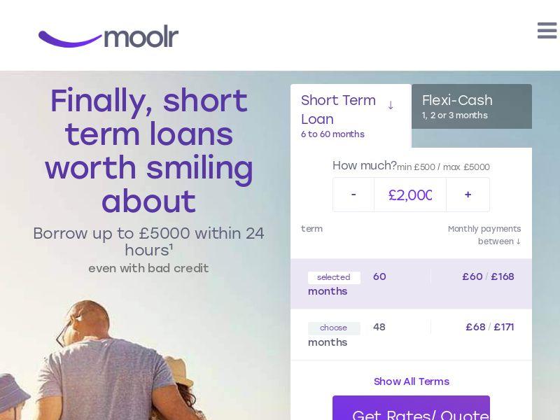 Moolr - Short term loans [UK]