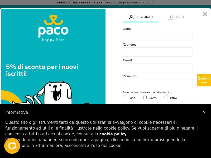 Paco Pet Shop - IT (IT), [CPS]
