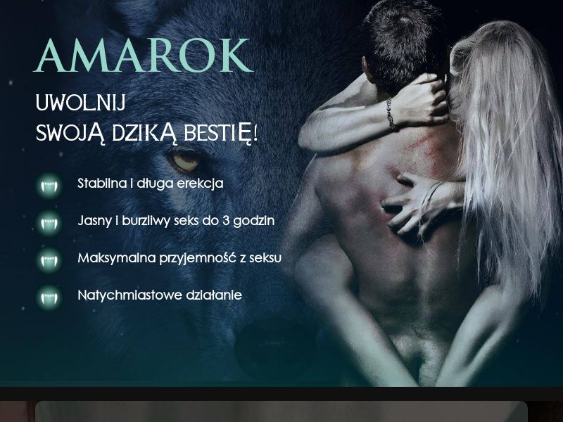 Amarok PL - potency treatment product