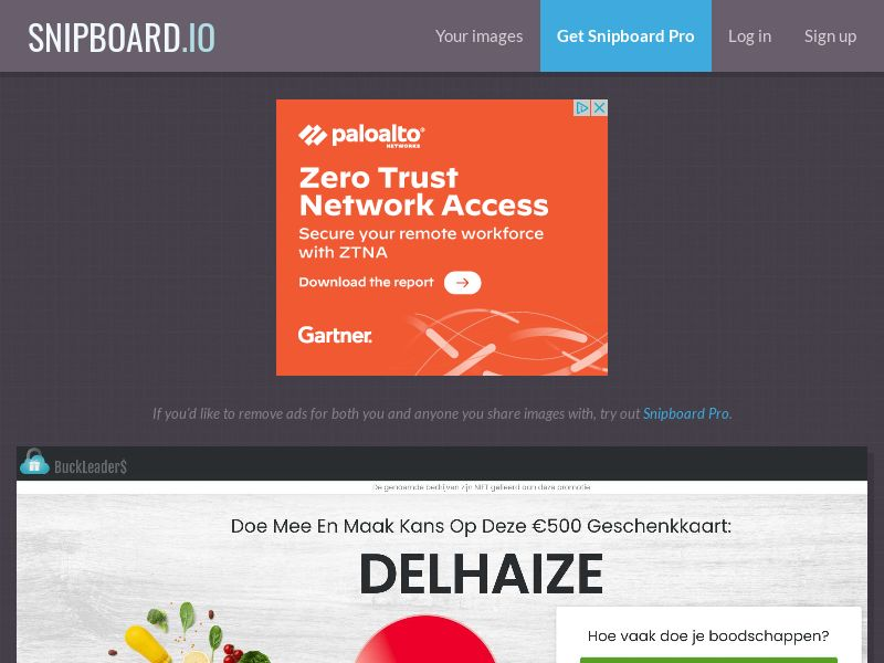 41059 - BE - Buckleaders - Delhaize - CPL
