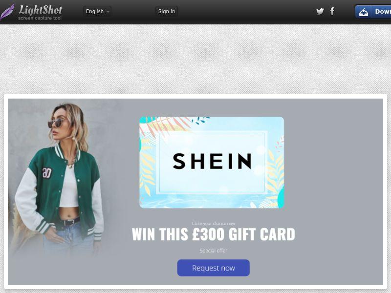 LeadMarket - SheIn Fashion (UK) (CPL) (Personal Approval)