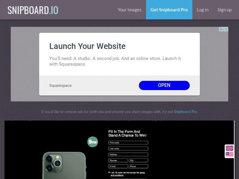 BigEntry - iPhone 11 Pro v1 MY - CC Submit