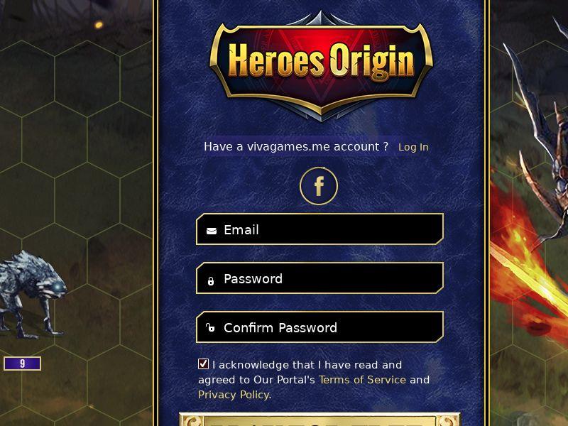 Heroes Origin - SOI - MultiGeo [14 Countries]