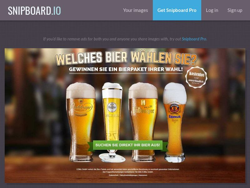38152 - DE - Bier Gewinnspiel - DOI