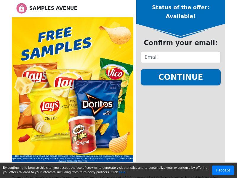 US - Samples Avenue - Chips Samples
