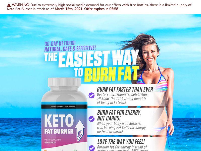 Keto Fat Burner SS - AU/NZ