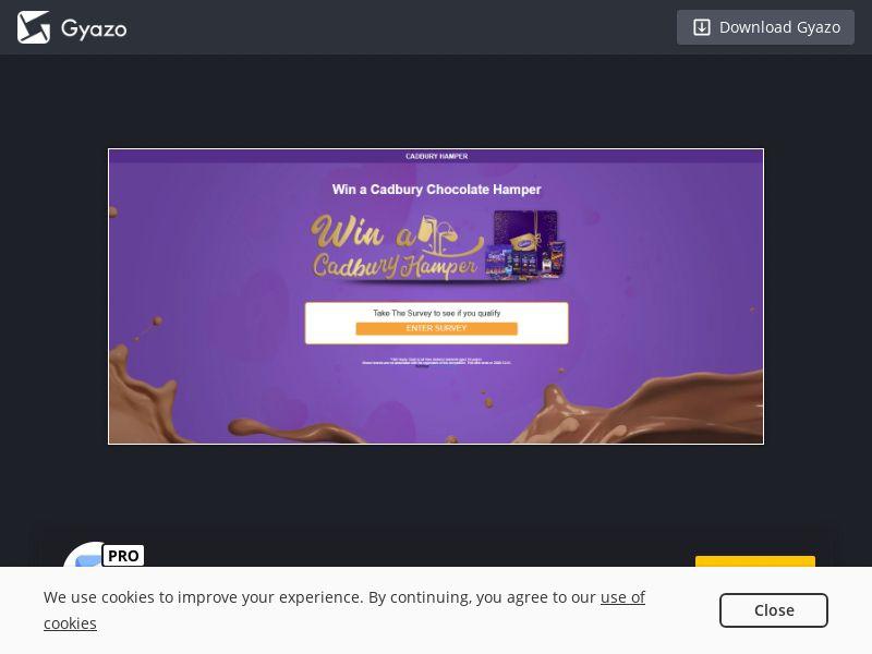 Cadbury Hamper - NZ - Non-Incent (CPL)