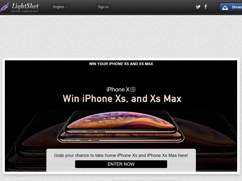 [SOI] iPhone XS & XS Max SG