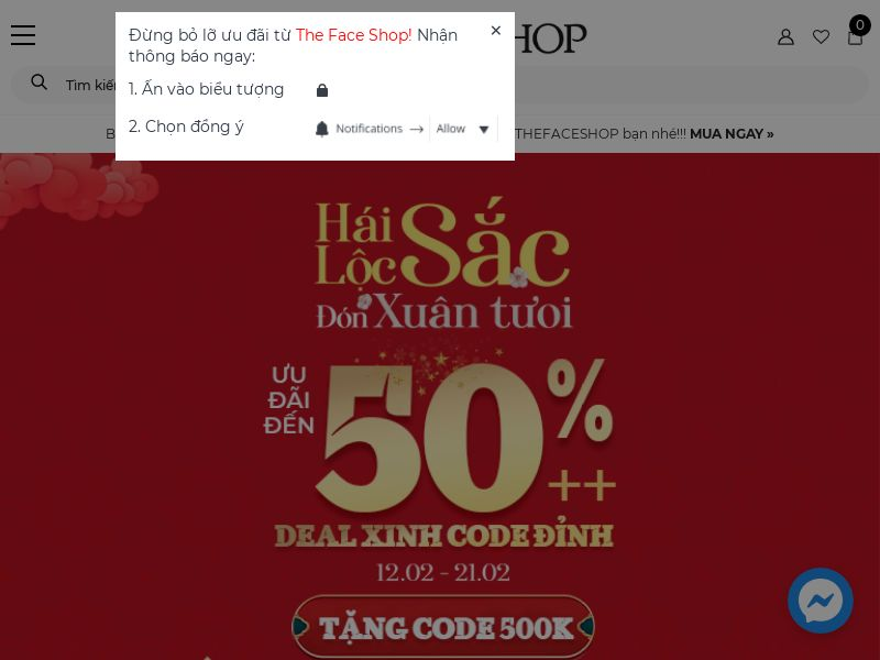 THEFACESHOP VN CPS