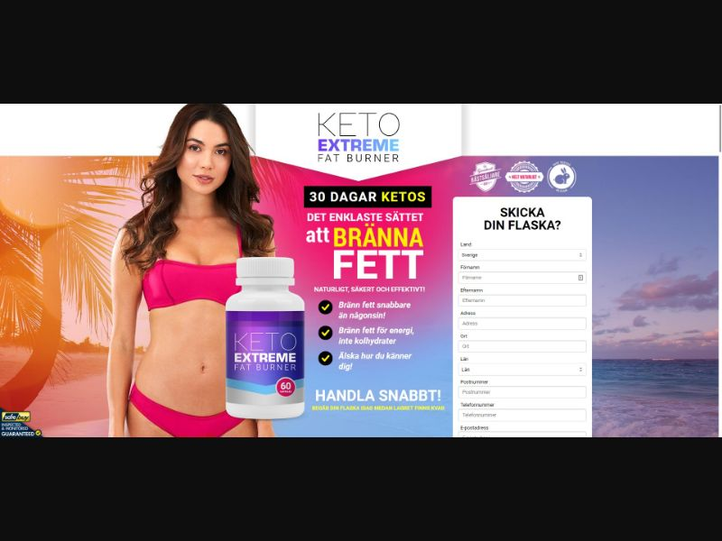Keto Extreme Fat Burner - Diet & Weight Loss - SS - [SE]
