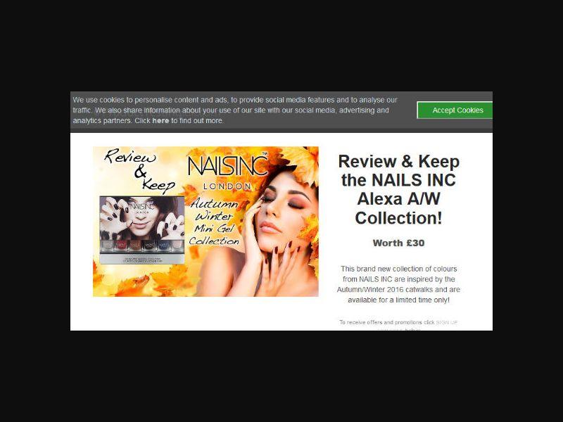 Product Testing - Nails Inc (UK)