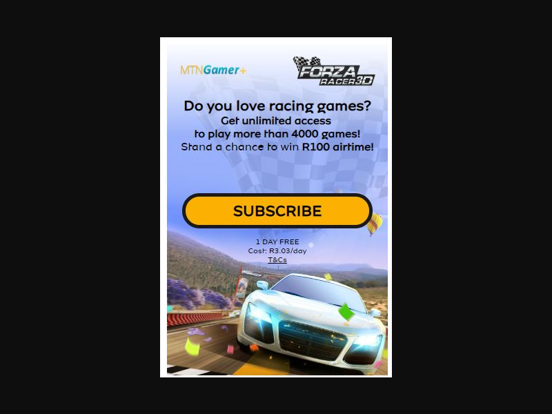 4447 | ZA | 2ClickFlow | MTN | Mainstream | Games