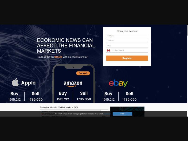Top Investment - $250 min CTC - Biz Opp - SS - [50 GEOs]