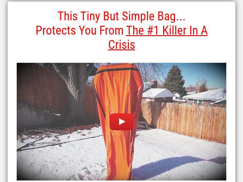 Emergency Sleeping Bag (Free + shipping) (US) (COPY)