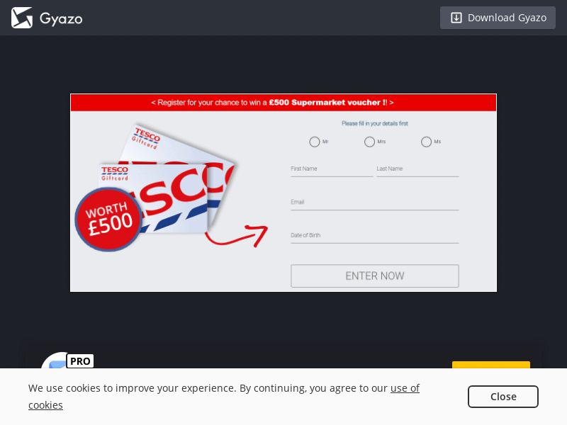 NectarContests - Win Tesco Gift Card (UK) (CPL) (Mobile)