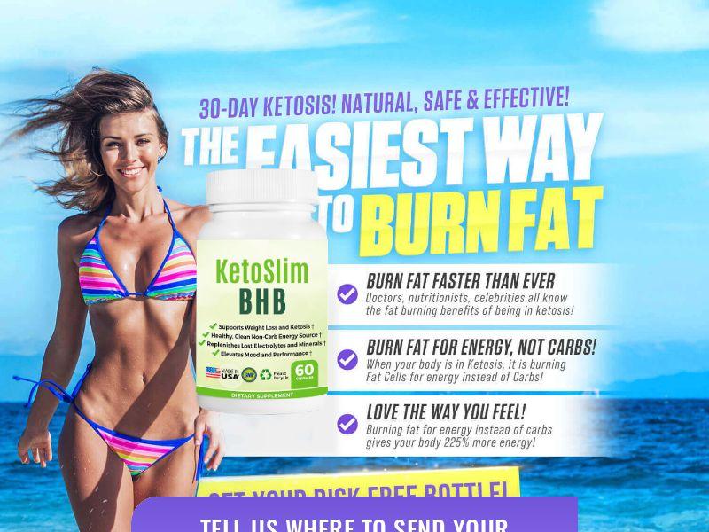 KetoSlim BHB (PPS) - Weight Loss/Diet/Health - US, CA