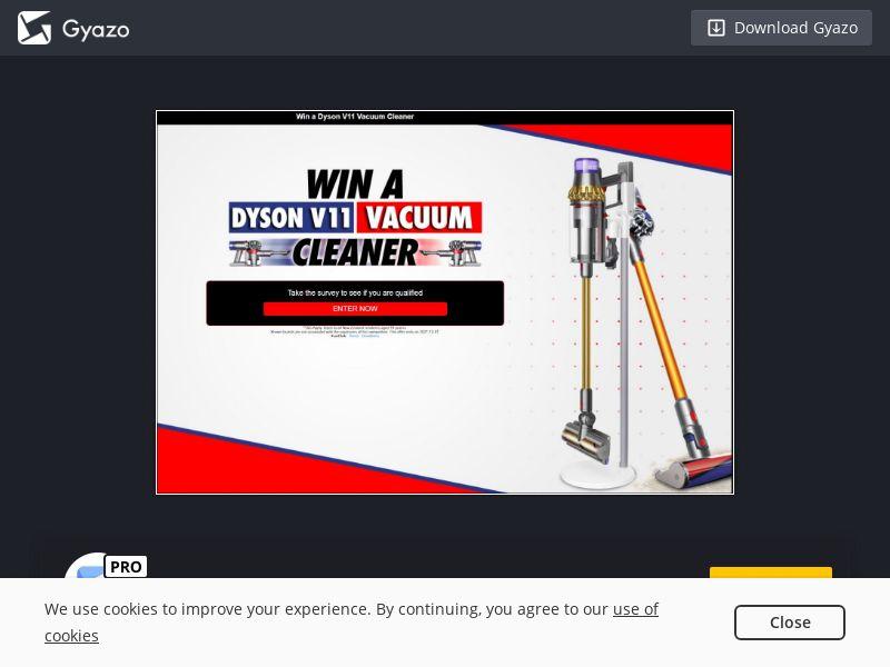 Dyson Vacum Cleaner Voucher (NZ) (CPL)