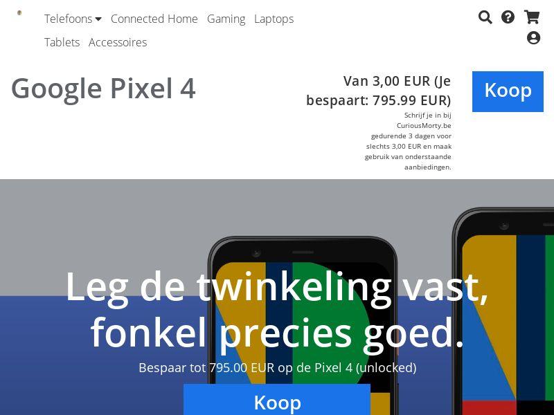 Google Pixel 4 - BE