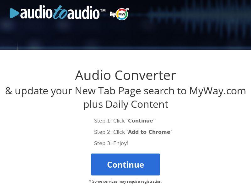 Audio converter - Chrome only - US [US]