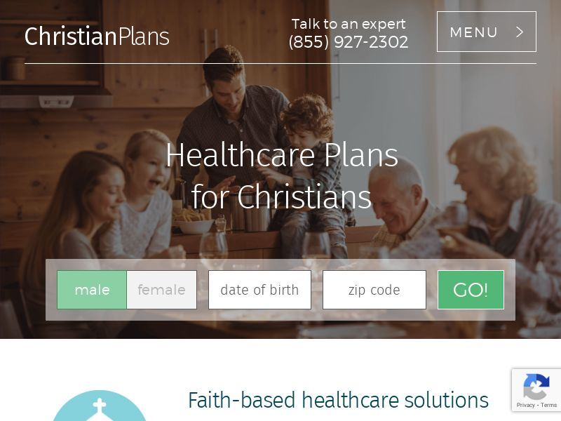 Christian Plans General - Healthcare - Display Only