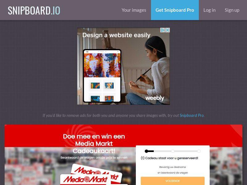 40799 - NL - WinAds - Media Markt €500 voucher - SOI