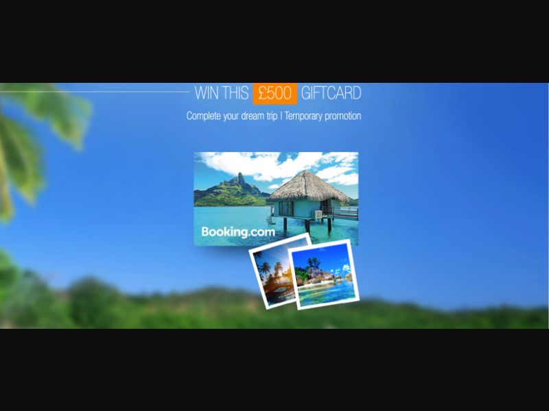 Booking - CPL SOI - UK - Sweepstakes - Responsive