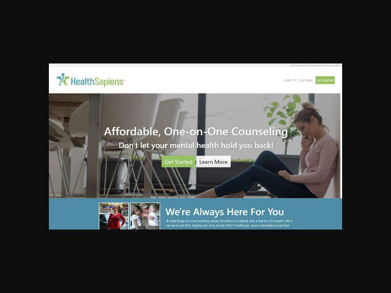 HealthSapiens - 24/7 Counseling CPL (US)