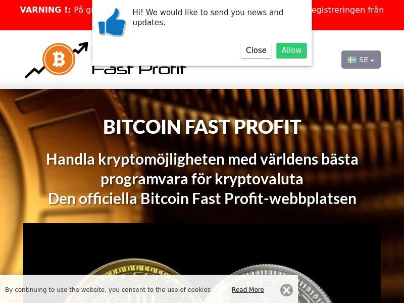 Bitcoin Fast Profits Swedish 3934