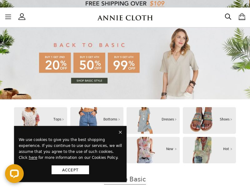 Anniecloth US