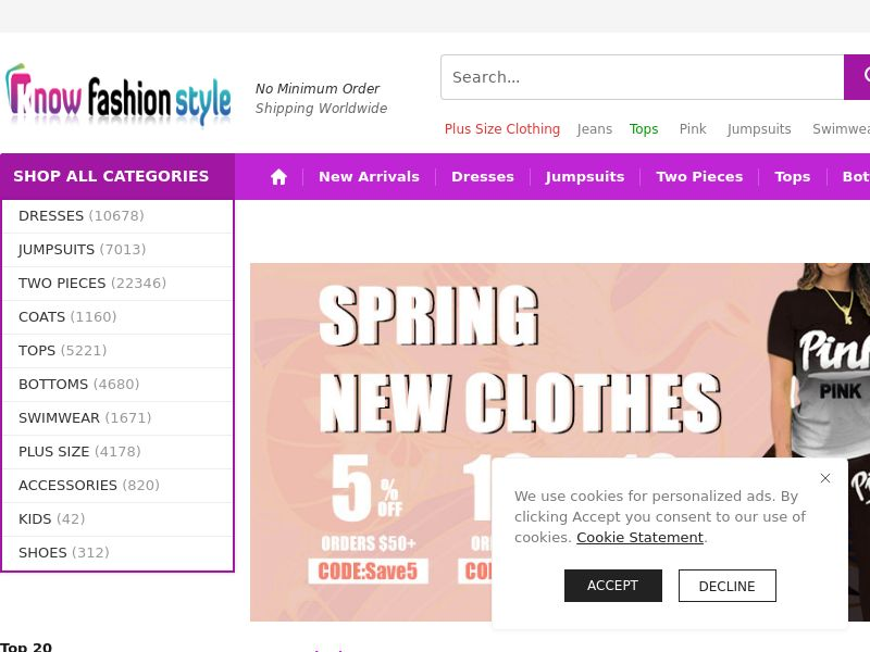 KnowFashionStyle (MultiGeo), [CPS], Fashion, Clothes, Shoes, Accessories and additions, Accessories, Jewelry, Presents, Sell, shop, gift